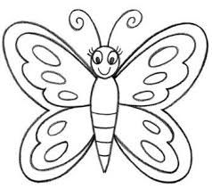 Image Result For Simple Butterfly Drawing Step By Step Drawings