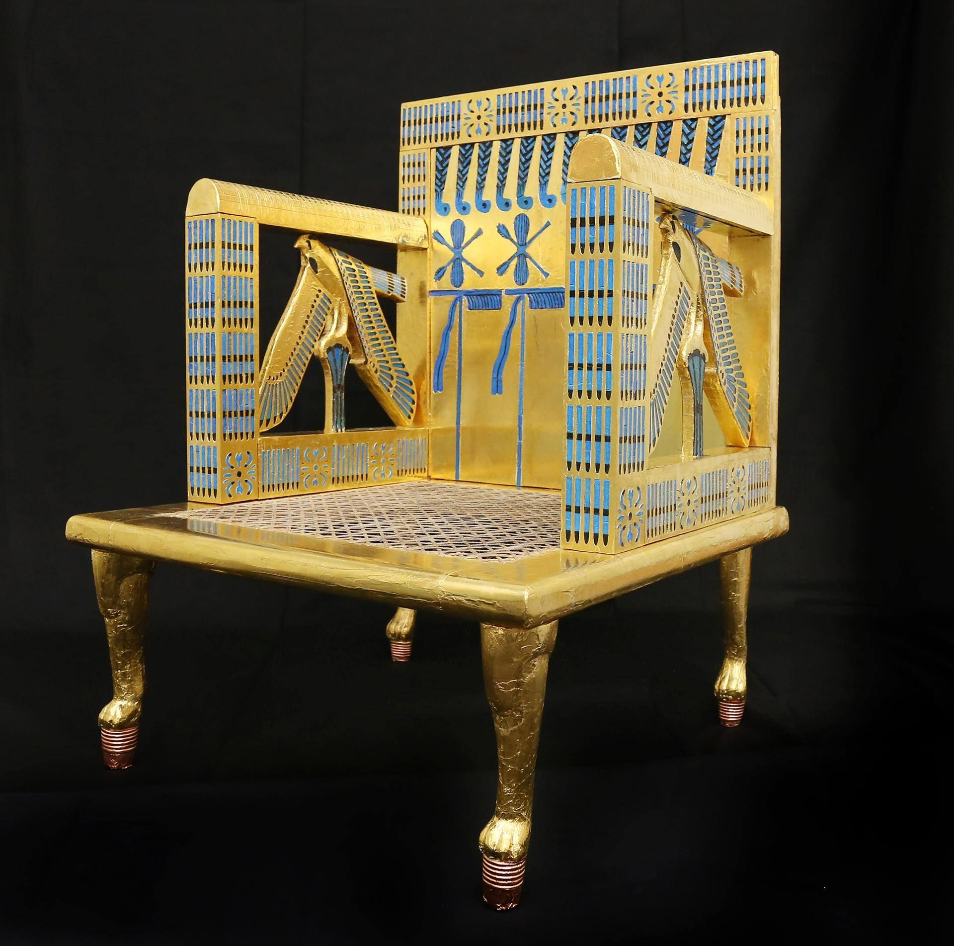 how to make a queen throne chair rooms go swivel experimental egyptology of the giza project at harvard