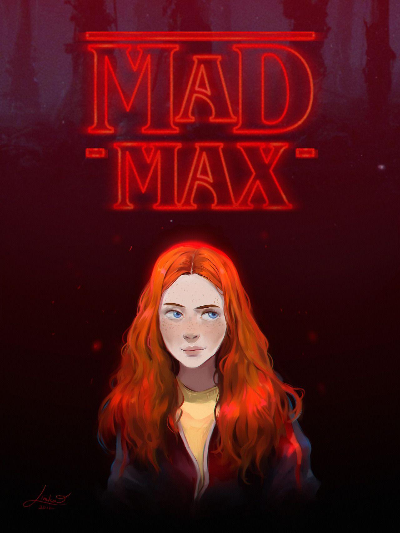 Mad Max Art By Limka Chan On Tumblr Stranger Things