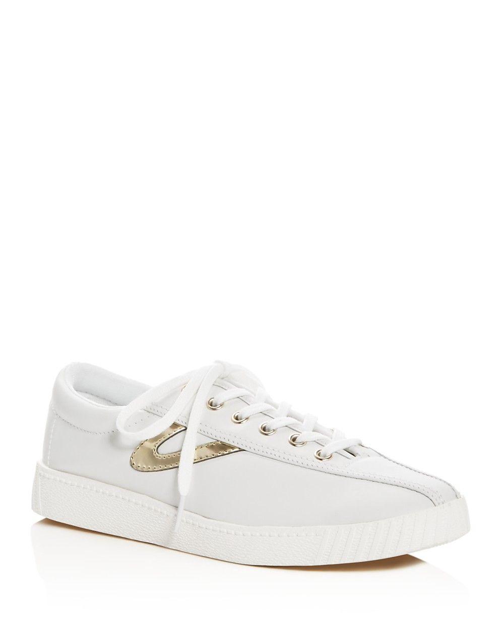 389bf04d8608 TRETORN Tretorn Women's Nylite 2 Plus Metallic Stripe Lace Up Sneakers. # tretorn #shoes #all