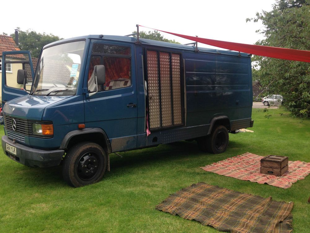 f125466523 Details about Showmans mercedes 814 moterhome camper
