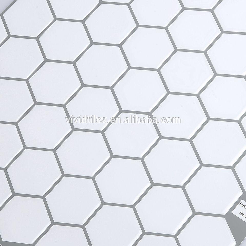 Tiles Stickers Vinyl Wall Covering Waterproof Mosaics