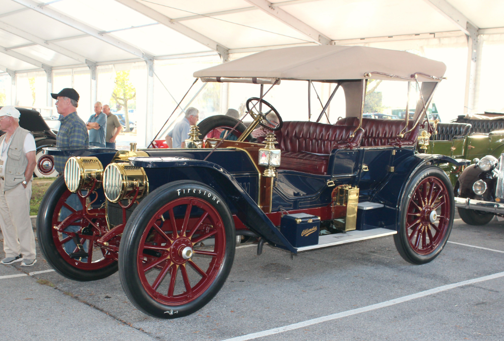 Image result for 1908 oldsmobile limited prototype