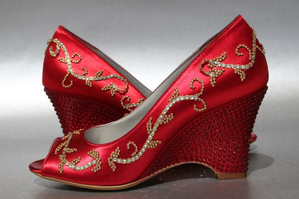Elliewrenweddingshoe Custom Wedding Shoes Indian Shoes Heels