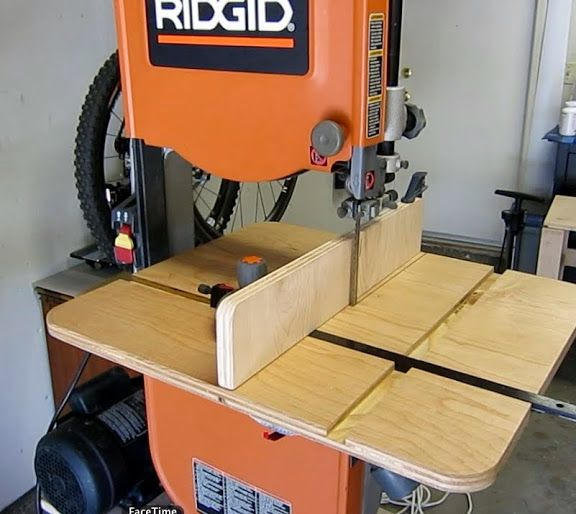 DIY Band saw resaw fence