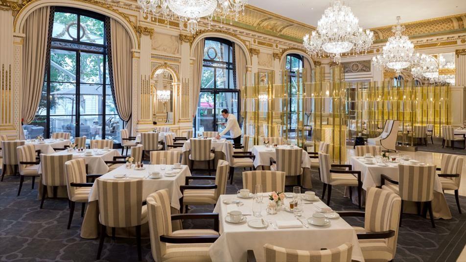the lobby restaurant at the peninsula paris hotel hotel the peninsula paris pinterest. Black Bedroom Furniture Sets. Home Design Ideas