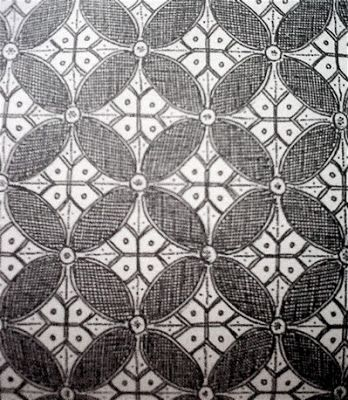 Sketsa Gambar Motif Batik Sederhana Batik Indonesia Sketsa Gambar Objek Gambar