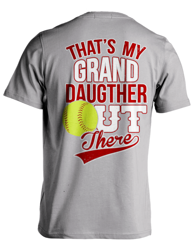 9134f33c Pick your favorite style: Are you proud of your softball playing Grand  daughter? Now you can show it with this Super Cool