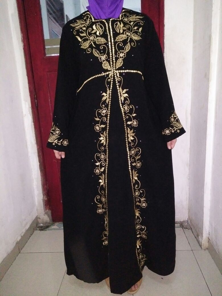 Model Baju Renda Abaya 28