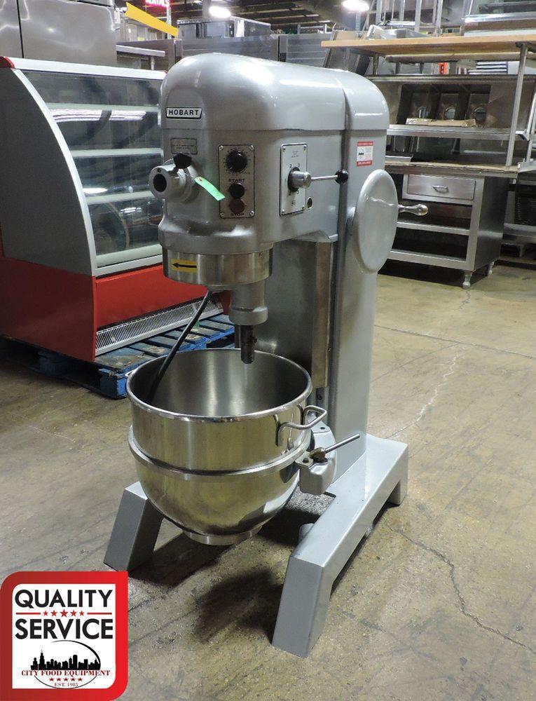 Hobart H600t Commercial 60 Quart All Purpose Mixer W 60qt Bowl 3 Phase 200v Hobart Restaurant Equipment Mixer Kitchen Aid Mixer