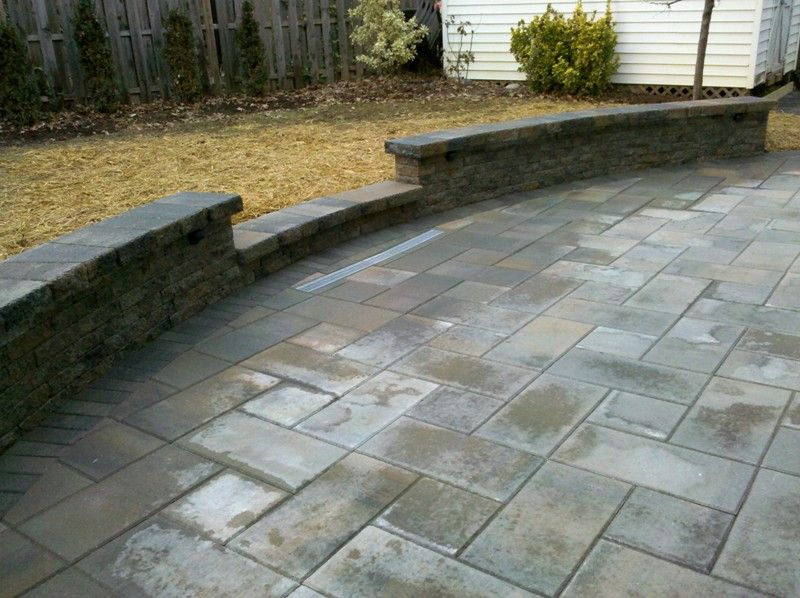 Decoration Patio Stones Pavers With Patios Pavers Exposed ... Concrete ...