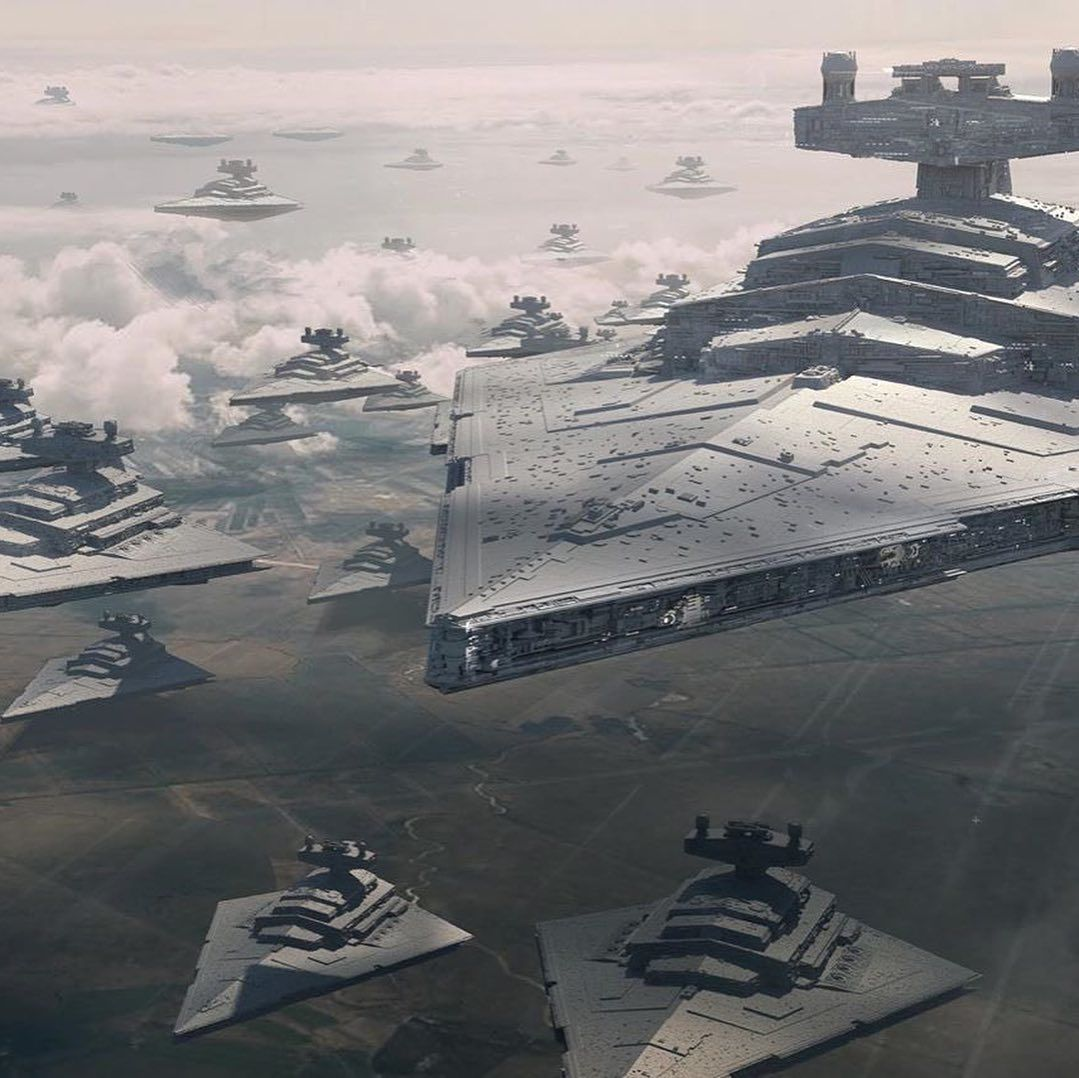Geek Carl On Instagram One Of The First Concepts I Did Of The Star Destroyer Fleet For The Rise Of Skywalk In 2020 Star Destroyer Star Wars Pictures Star Wars Ships