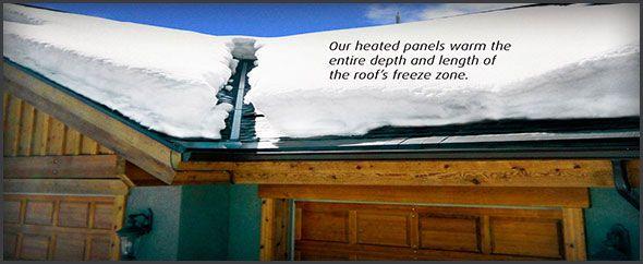 Engineered Roof Deicing   IceFree Heated Roof Panels