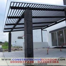 Techos para garajes con policarbonato o vrio pergo 4yrw68t for Cubiertas para garajes