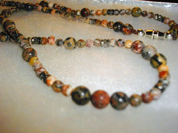 #Leopard #Jasper #Necklace by ShannonsTieDyeAnMore http://etsy.me/1jPNDFc #Etsy #gorgeous #gift #keepsake #handmade