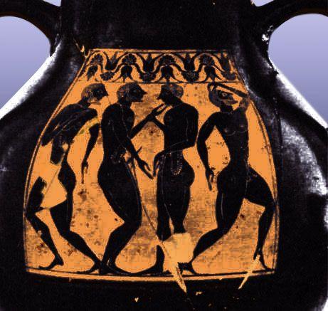Erotic art ancient greek pottery