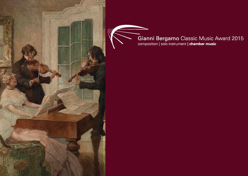 Gianni Bergamo Award  Composition  Solo instrument  | Competitions