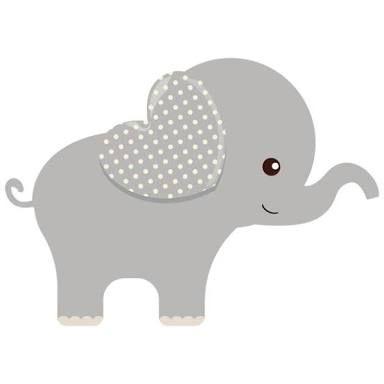 Free Printable Elephants For Corsage In Baby Shower Ile Ilgili