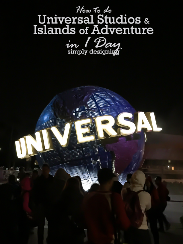 How To Do Universal Studios In 1 Day With Young Children Universal Studios Universal Parks Universal Studios Florida