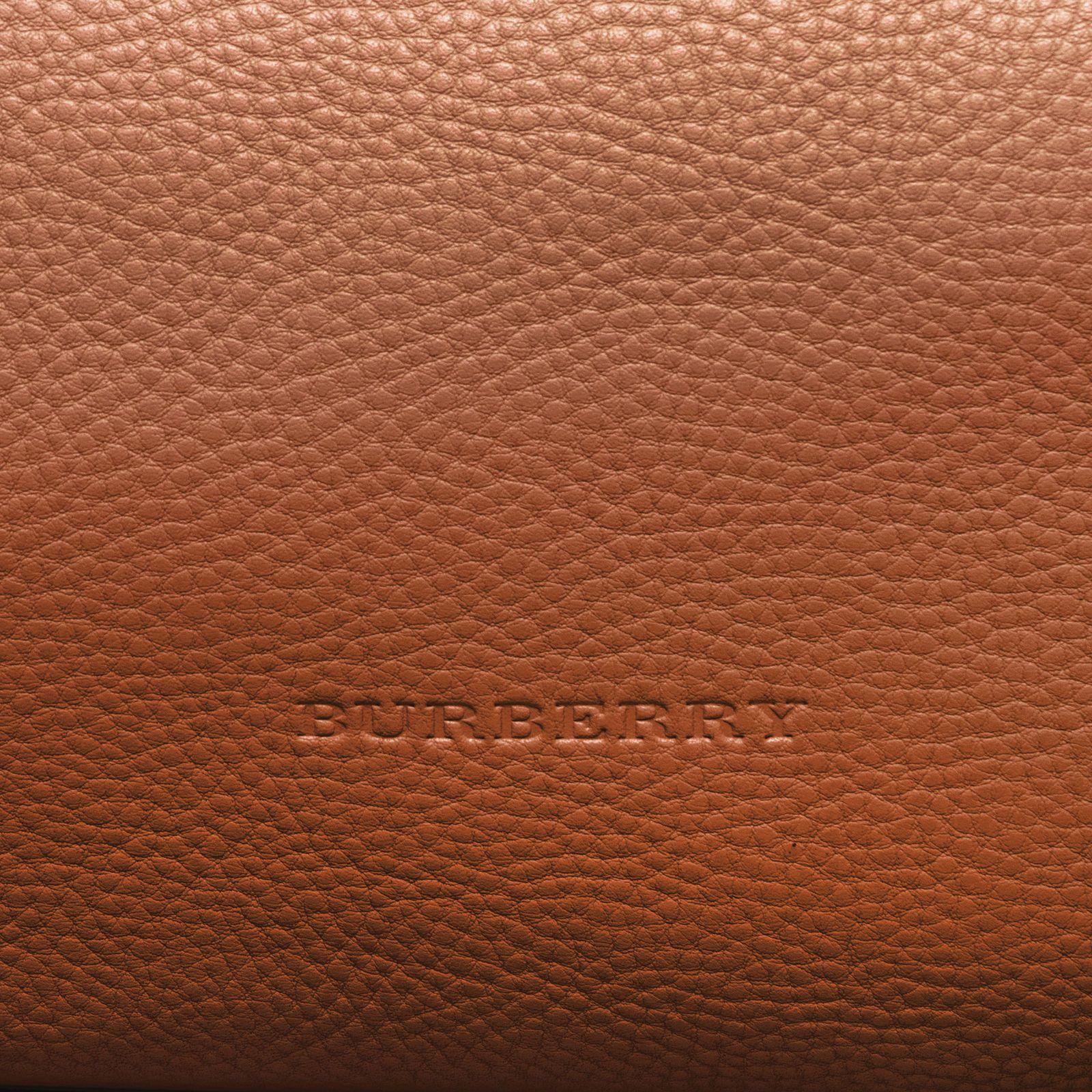 Burberry Women s Brit Medium Maidstone Leather and Canvas Handbag Brown   629.99  burberry  handbag ef7d2f606a945