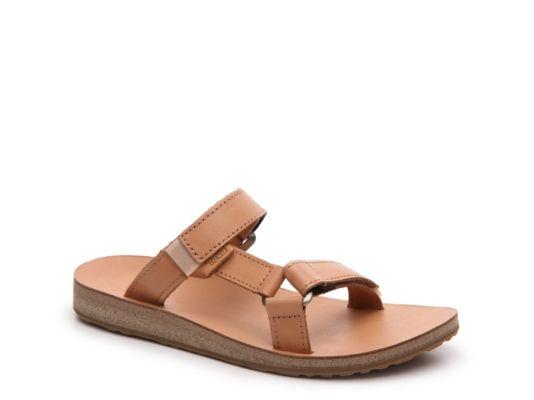 1ed0bdaa3 Women s Teva Universal Slide Leather Flat Sandal - Tan