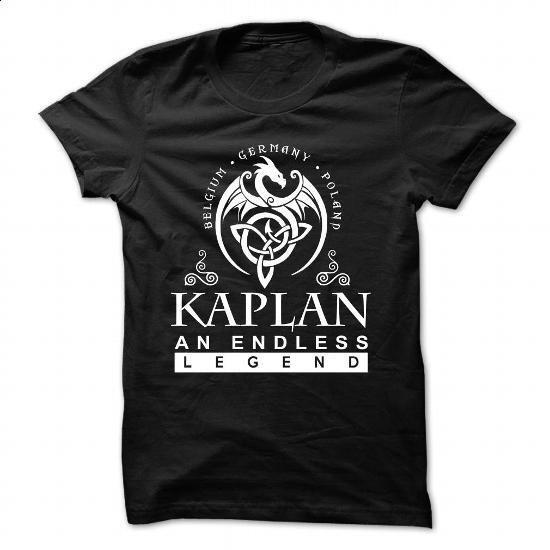 KAPLAN an endless legend - #geek hoodie #sweater women. ORDER HERE => https://www.sunfrog.com/Names/KAPLAN-an-endless-legend.html?68278