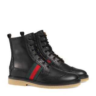 Kid shoes, Brogue boots, Leather brogues