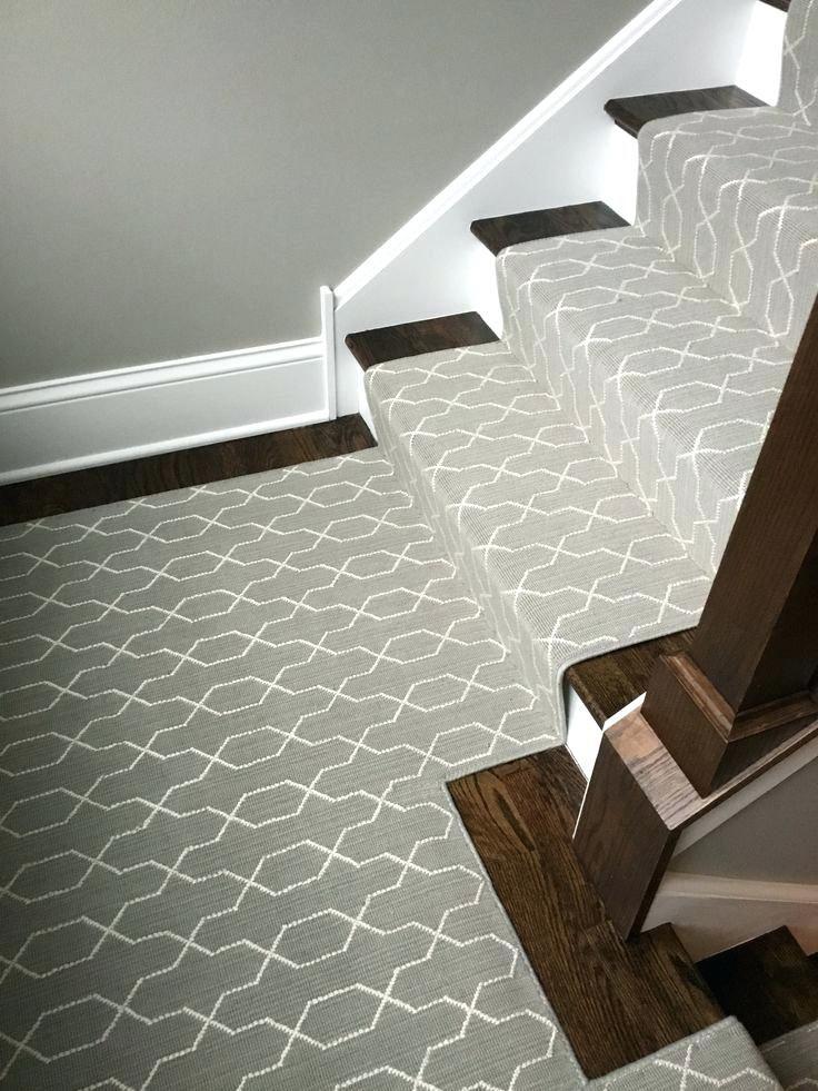 Best Berber Carpet Stairs Grey Transitional Carpet Stair Runner 400 x 300