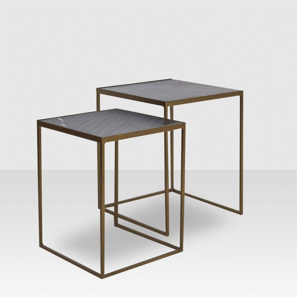 Marble Nesting Tables Black X2f Brass Elte Market Nesting Tables Table Coffee Table