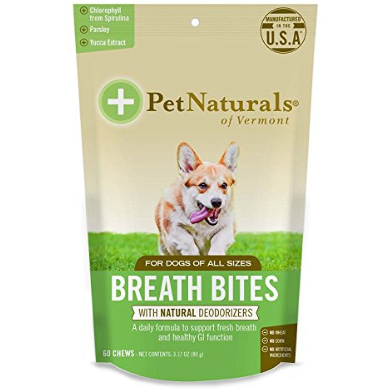 Pet Natural's of Vermont 60 Count Breath Bites Dental