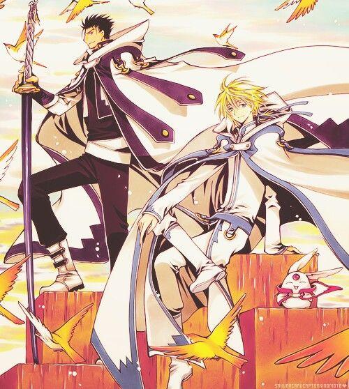 Tsubasa Chronicle Fai Sakura: Korugane And Fai From Tsubasa Chronicles, A Lovely Anime