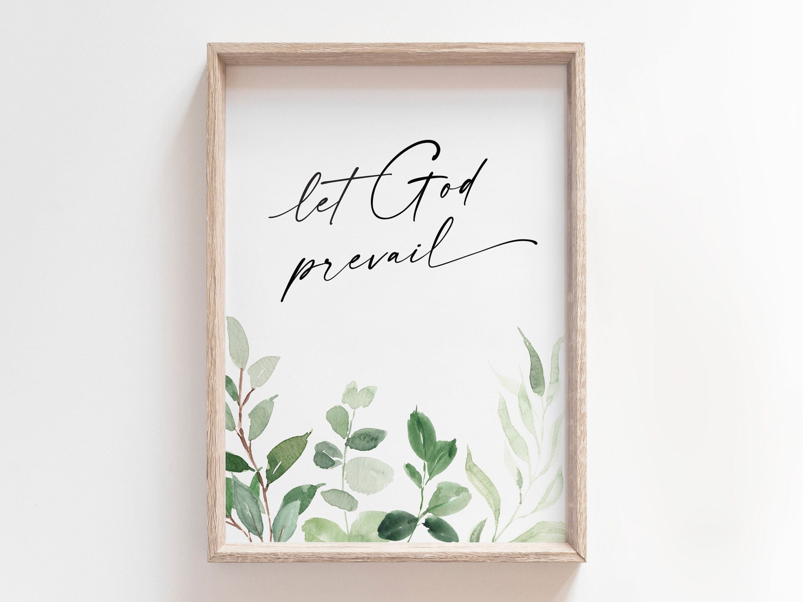 Let God Prevail Lds Printable Wall Art Lds Quote Faith Etsy Printable Wall Art Etsy Printable Wall Art Lds Printables