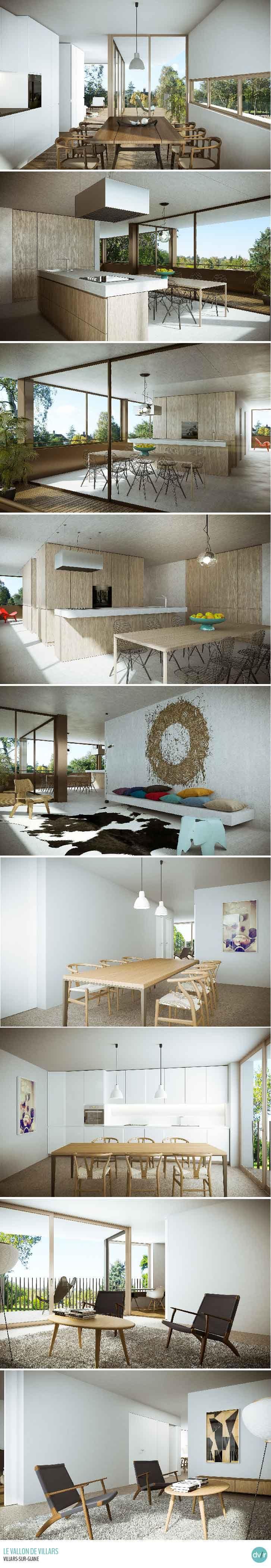 Le Vallon de Villars - Apartments - High quality Render and