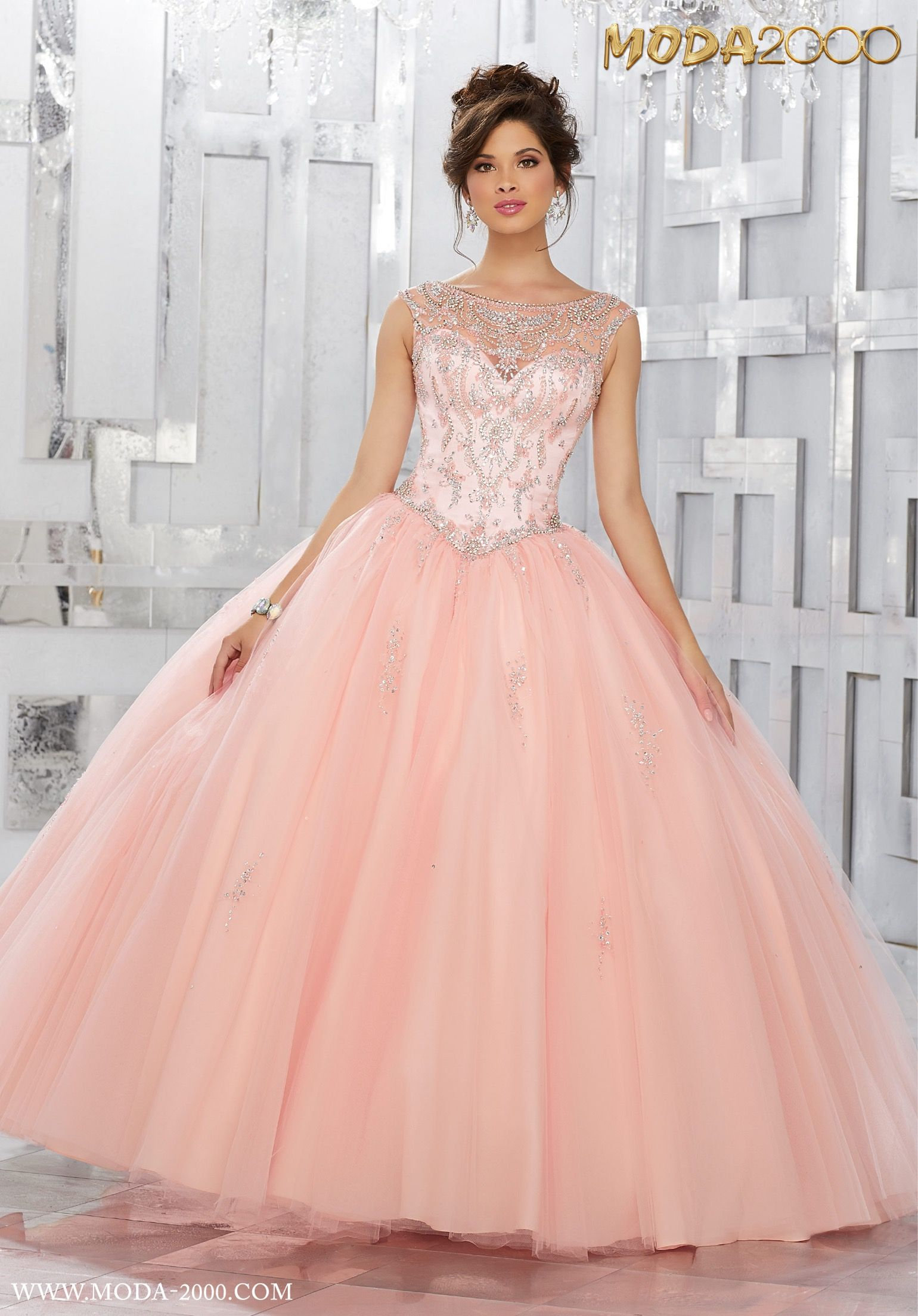 38db87098e9 MODA 2000 BEAUTIFUL PINK QUINCEANERA DRESS! Follow us on instagram for  daily updates  moda 2000