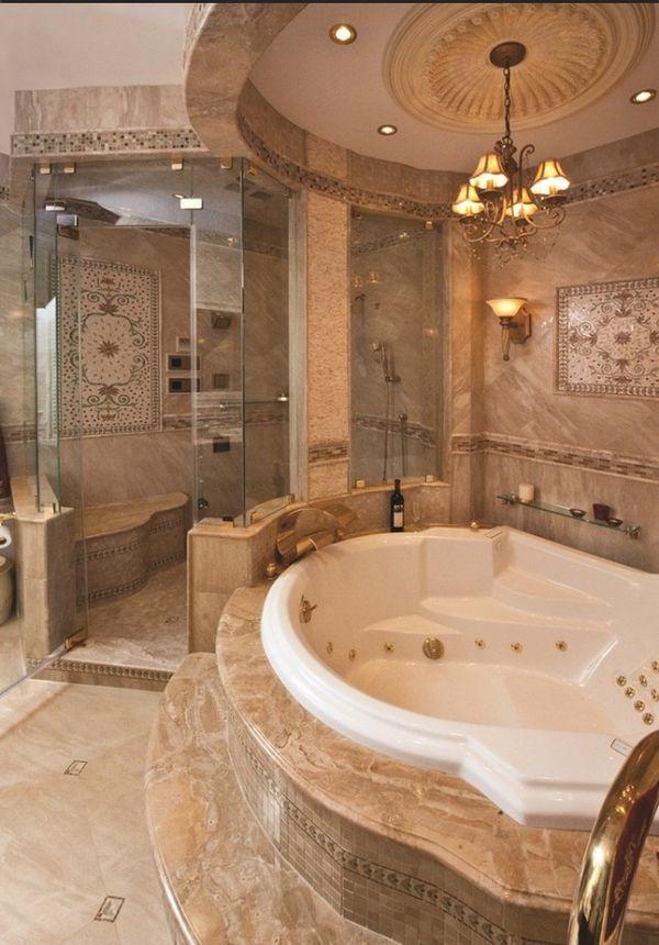 Master bathroom | Bathroom | Pinterest | Master bathrooms, Jacuzzi ...