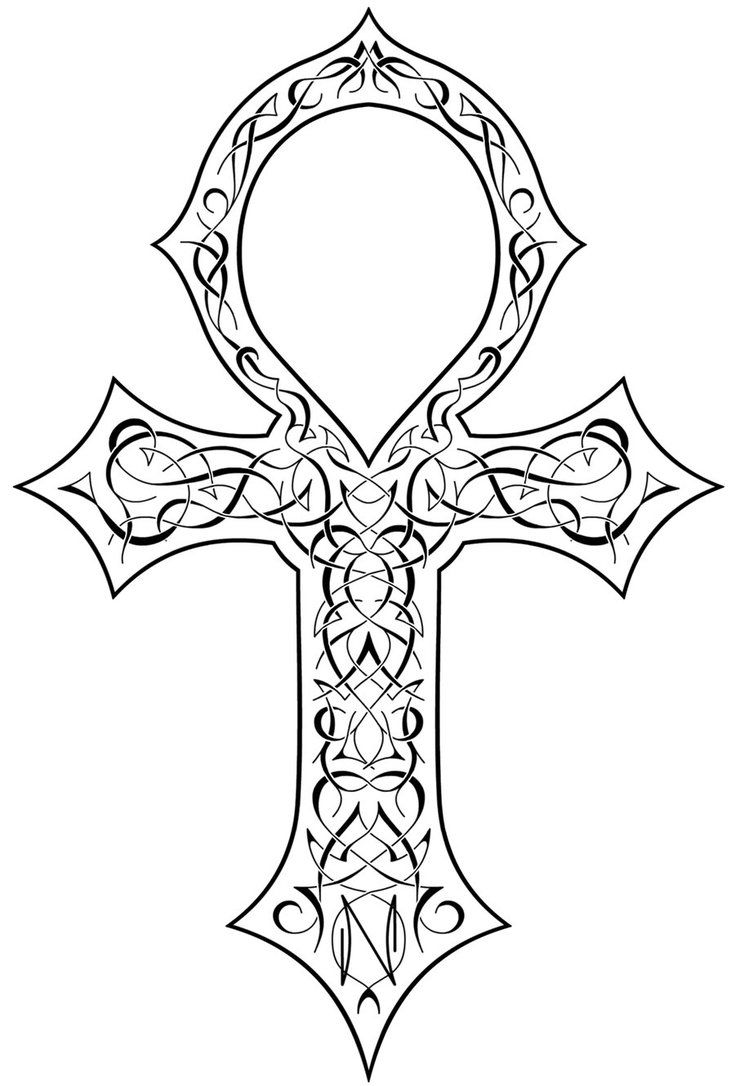 Ornate Ankh Tattoo Idea Ankh Tattoo Ornate Tattoo Cool Tattoo Drawings