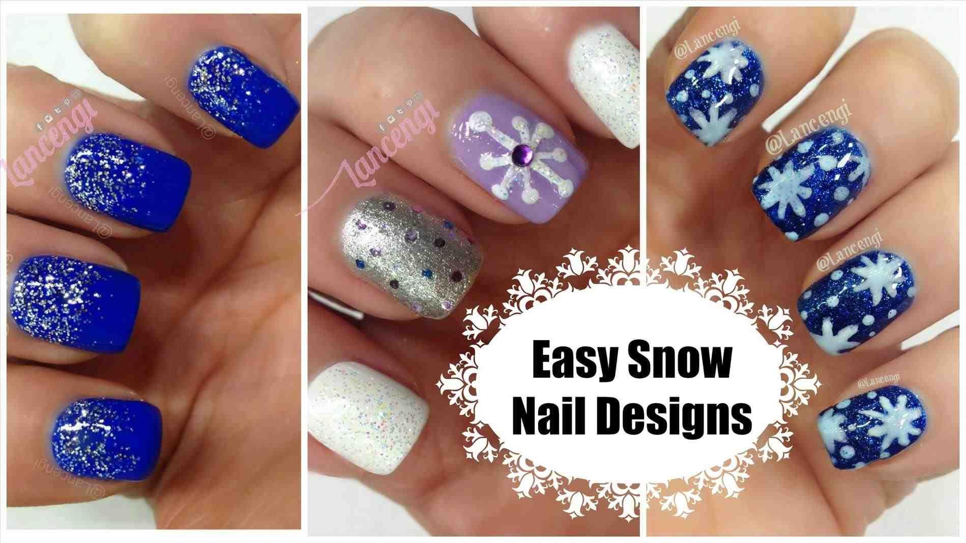 New Post Christmas Snowflake Nail Designs Trendingcheminee