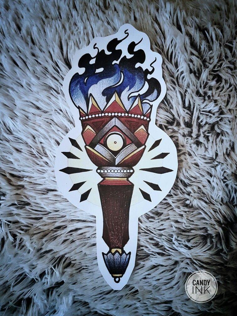 #neo #traditional #lantern #tattoo #design
