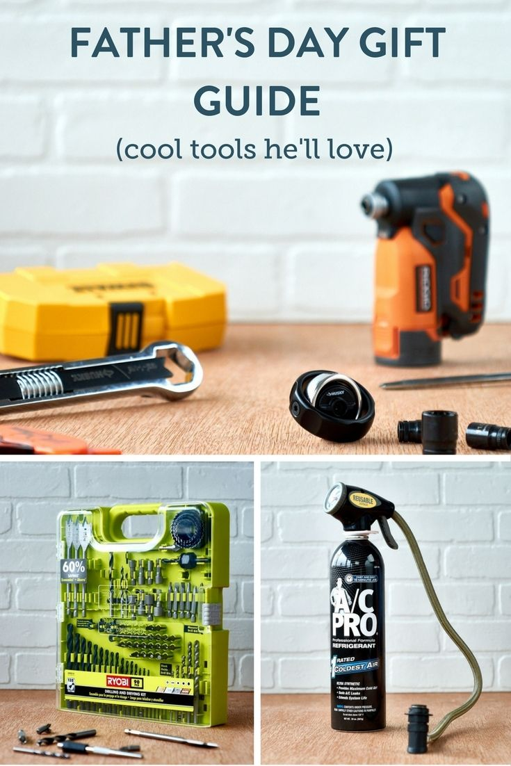 Father's Day Tool Gift Guide - We've rounded up all the cool tools he'll love! @homedepot #sponsored #thdprospective