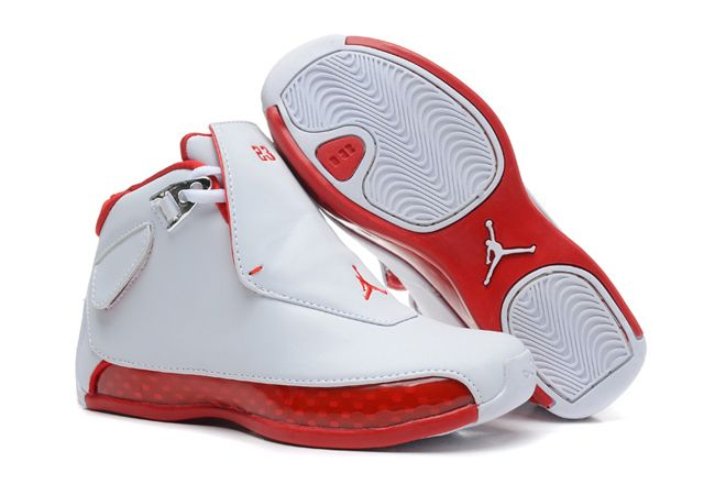 f27ca3614cd3 Michael Jordan Retro 18 XVIII Original OG Kids SIZE White Varsity Red 31331  CAD58.10