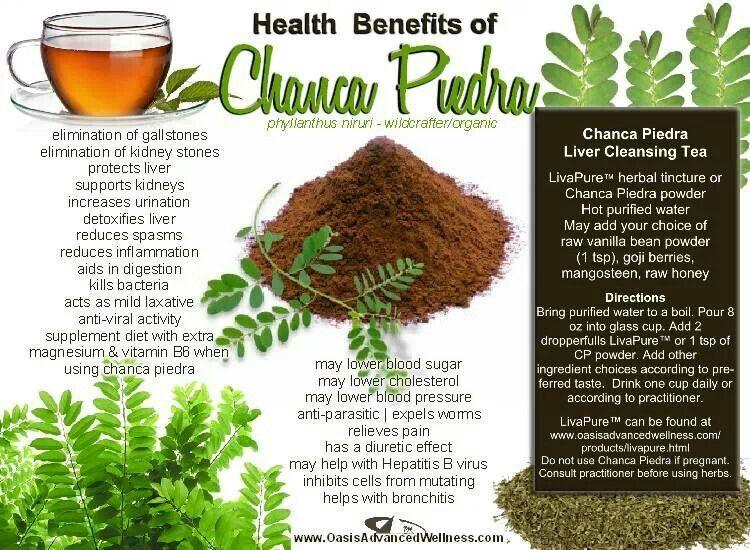 Chanca Piedra Health And Wellness Liver Detox