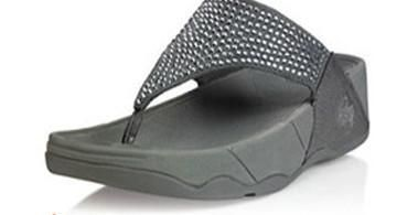 2b6c7fd4b7e Fitflop Swarovski Crystal Grey Shoes - UK Fitflop Sandals outlet For women.  VIP price