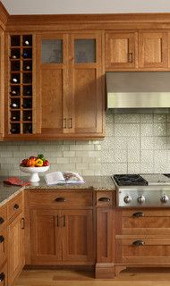 Kitchen with Celtic backsplash - traditional - kitchen - minneapolis - by LiLu Interiors