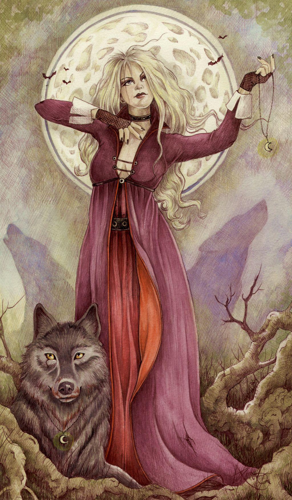 The Wolf Queen by ~MissLoonyLuna on deviantART
