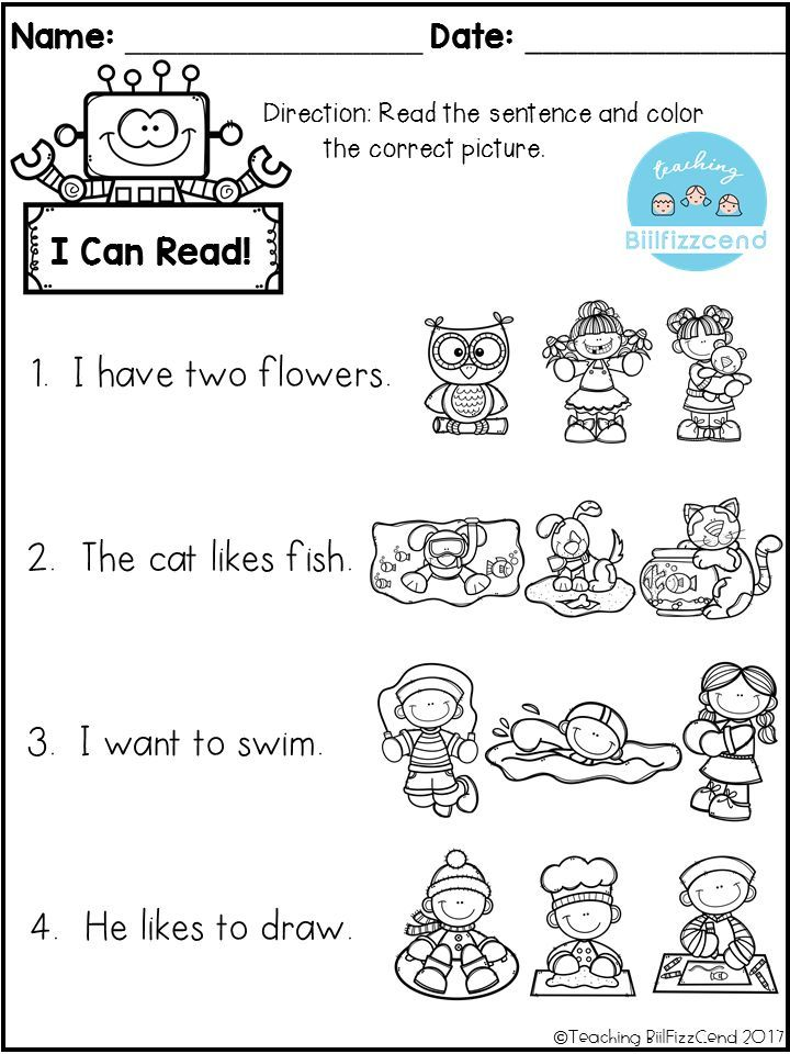 Free Reading Comprehension Check Free Kindergarten Reading
