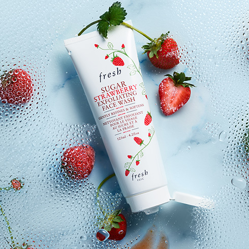 Photo of Sugar Strawberry Exfoliating Face Wash