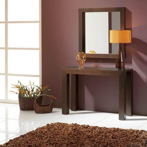 Mesa Para Recibidor. Great Excellent Consola Modernas Cristal ...