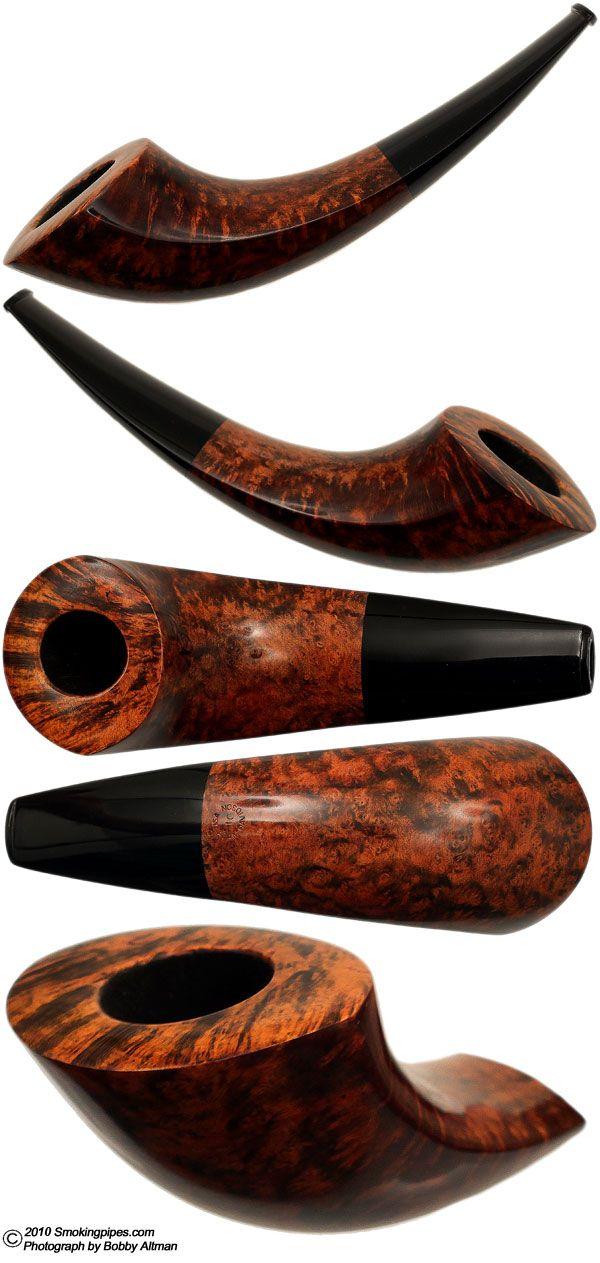 Smooth Horn | Smoking Pipes | Tobacco pipe smoking, Briar
