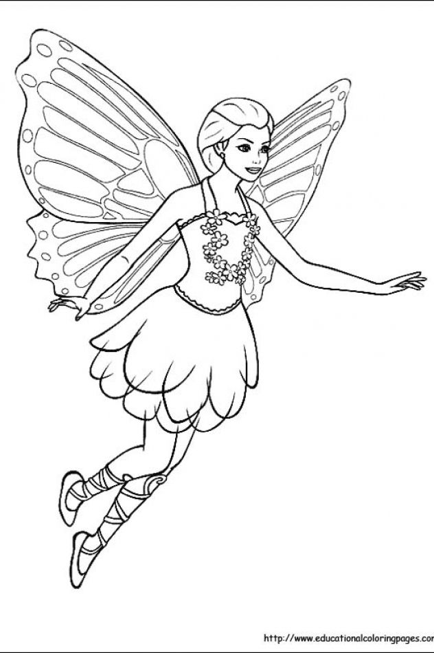 Fairy Educational Fun Kids Coloring Pages And Preschool Skills Worksheets Fairy Coloring Ariel Coloring Pages Fairy Coloring Pages