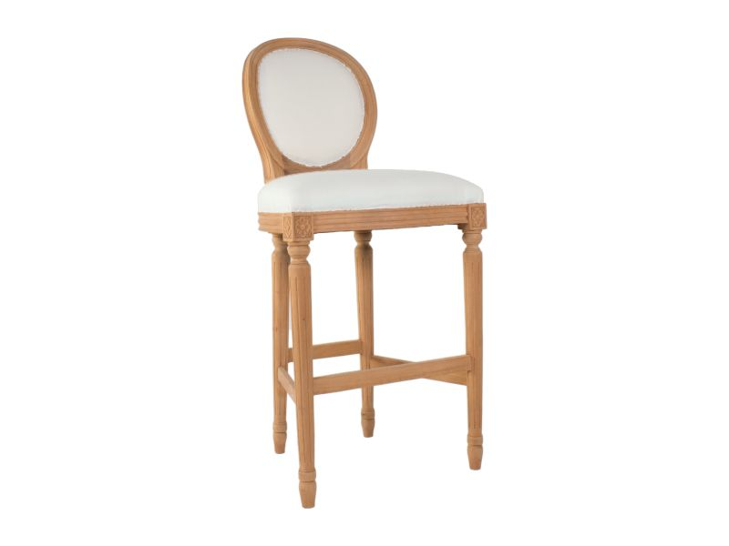 Louis Oval Bar Stool By Hidden Mill Any Colour Any